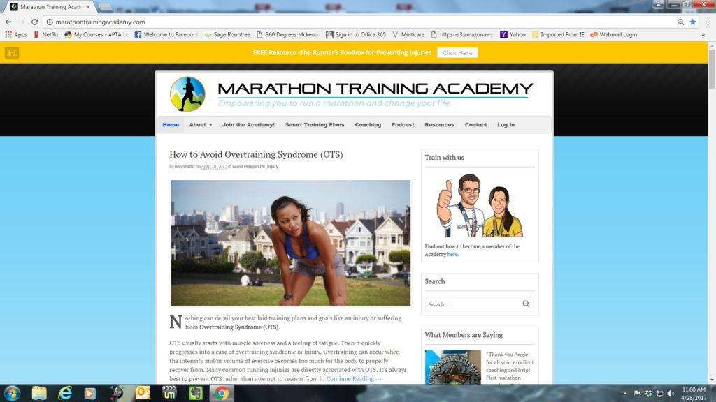 3 the physical therapy advisor part 5 how to avoid overtraining syndrome ots fandeluxe Choice Image