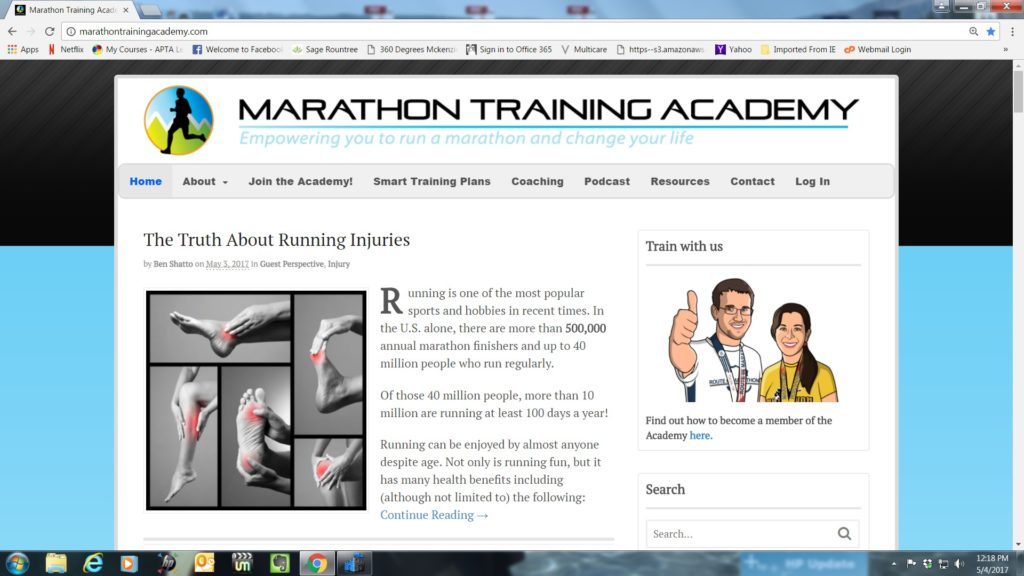3 the physical therapy advisor part 5 httpmarathontrainingacademytruth running injuries fandeluxe Choice Image
